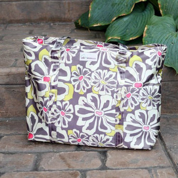 Amy Michelle Austin Go Bebe Diaper Bag - Charcoal Floral