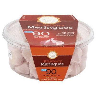 Krunchy Melts Strawberry Meringues Cookies, 4 oz, (Pack of 12)