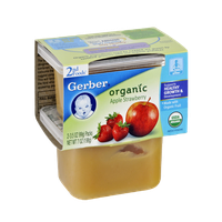 Gerber® 2nd Foods Organic Apple Strawberry