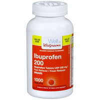 Walgreens Ibuprofen 200 mg Tablets Value Size