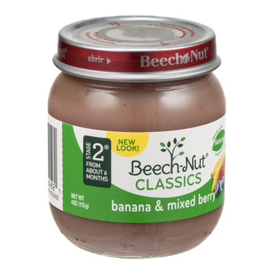 Beech-Nut Classics Stage 2 Banana & Mixed Berry