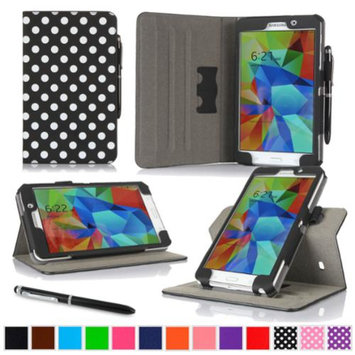 rooCASE Samsung Galaxy Tab 4 7.0 SM-T230 Tablet Case - Dual View Multi-Angle Stand Cover with Pen Stylus for Tab4 7-Inch 7