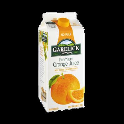 Garelick Farms Premium No Pulp Orange Juice