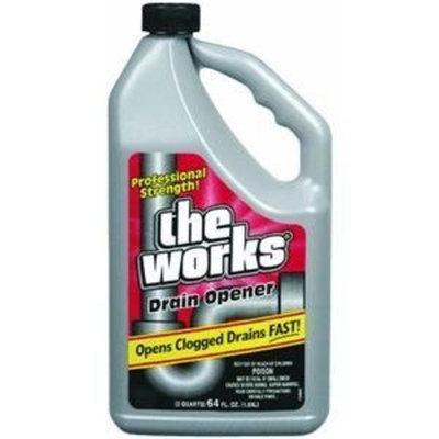 The Works Drain Opener Professional Strength 64 Fl. Oz.