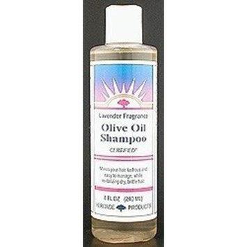 Heritage Shampoo, Olive Oil Lavender 8 oz
