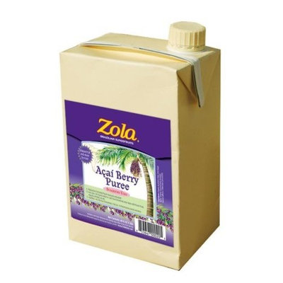 Zola Brazilian Superfruits Acai Berry Puree, 46-Ounce Boxes (Pack of 6)