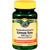 Spring Valley : Green Tea Extract Herbal Supplement