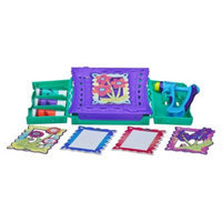 Play Doh DohVinci Anywhere Art Studio Easel & Storage Case Set