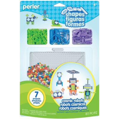 Perler Shapes Fun Fusion Fuse Bead Activity Kit-Cosmic Robots