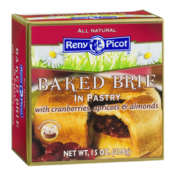 Reny Picot Baked Brie In Pastry with Cranberries, Apricots & Almonds