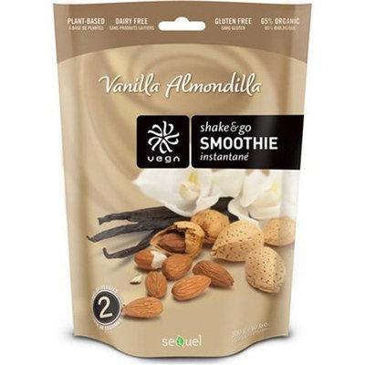 Vega (Sequel) Naturals, Shake & Go Smoothie, Vanilla Almondilla, 10.6 oz (300 g)