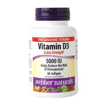 Holista Extra Strength Vitamin D3 5000 IU Softgels