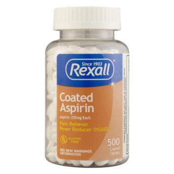 Rexall Aspirin - Coated Tablets, 500 ct