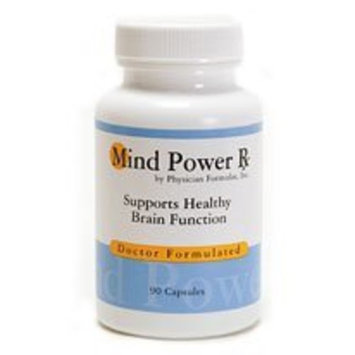 Advance Physician Formulas Mind Power Rx Supplement - Formulated by Dr. Ray Sahelian, M.D., best selling author of Mind Boosters book - Contains Powerful Mind Boosting Herbs including Ginkgo Biloba, Ashwagandha, Bacopa Monniera, and Gotu Kola For Mental Enhancement, Memory, Concentration, and Focus 60 capsules