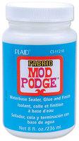 Plaid 315675 Mod Podge Fabric Finish-8 Ounces