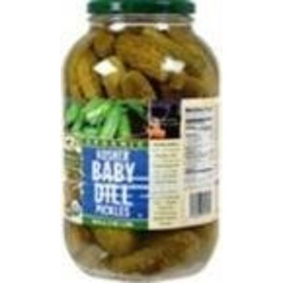 Woodstock Farms Woodstock Baby Kosher Dill Pickles ( 6x64 OZ)