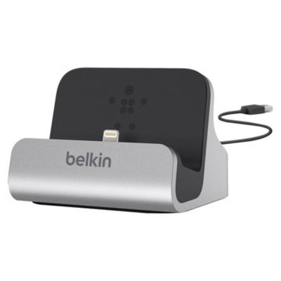 Belkin MP3 Docking Station and Charge Sync Dock - Silver/Black