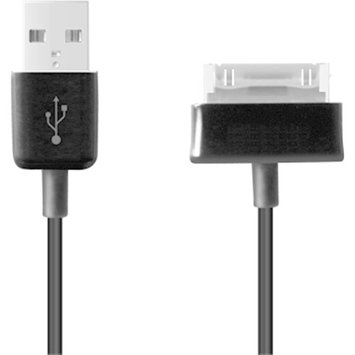 4XEM 3FT 30-Pin To USB 2.0 Data/Charge Cable For Samsung Galaxy Tab/Note - Black