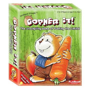 Playroom Entertainment Gopher It Card Game