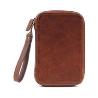 ONA Clarendon Leather Photo Accessories Organizer, Walnut