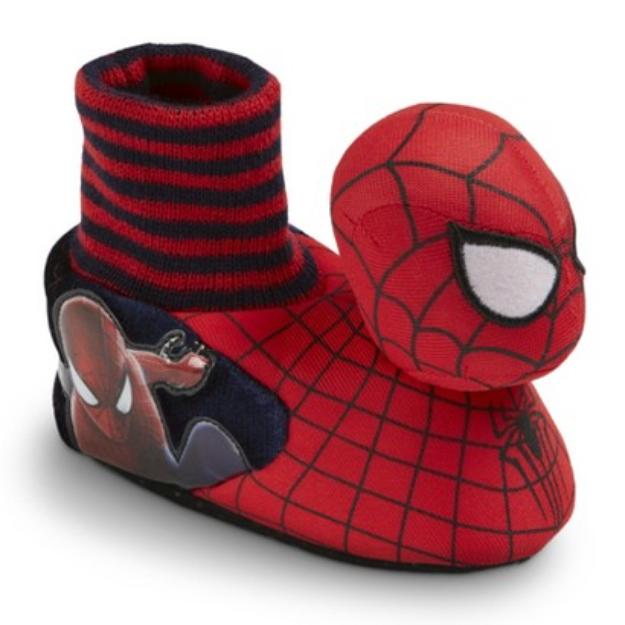 Marvel Toddler Boy's Spiderman Slippers - Red S