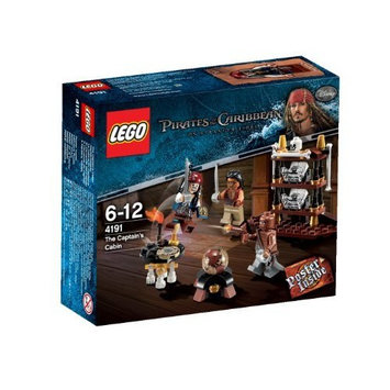Lego Pirates Of The Caribbean 4191 : The Captain'S Cabin