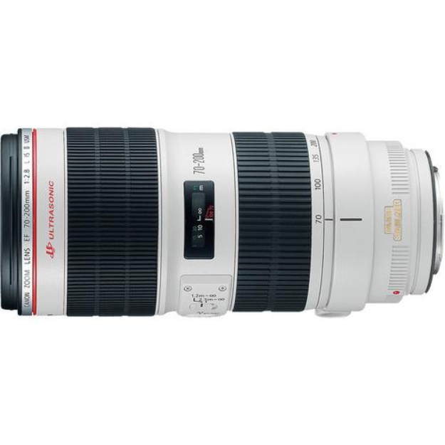 Canon 70-200mm f/2.8L EF IS USM II Telephoto Zoom Lens plus Accessory Kit