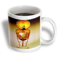 Recaro North 3dRose - Faberge Eggs - Picture Faberge Egg Peter The Great - 15 oz mug