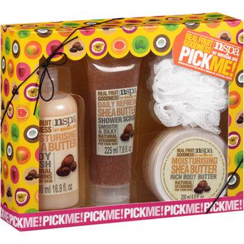 NSPA Pick Me! Shea Butter Bath Gift Set, 4 pc