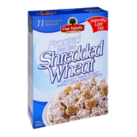 Our Family Frosted Shredded Wheat Cereal