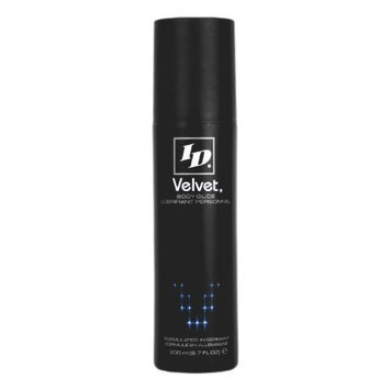 I-d Lubricants ID Velvet Silicone Lubricant, Waterproof, 6.7 Ounce