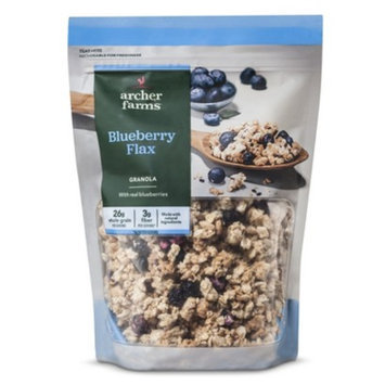 Archer Farms Cereal Blueberry Granola with Flax 12 oz