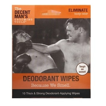 The Decent Man's Grooming Tools Deodorant Wipes