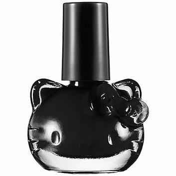 Hello Kitty Tokyo Pop Liquid Nail Art Black  Night 0.03 oz