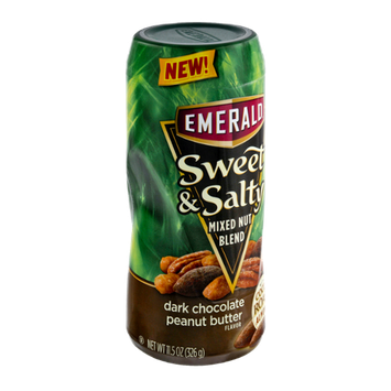 Emerald Sweet & Salty Dark Chocolate Peanut Butter Mixed Nut Blend