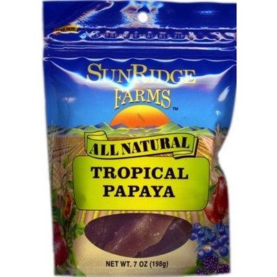 Sunridge Farms Tropical Papaya Spears, 7-Ounce Bags (Pack of 12)