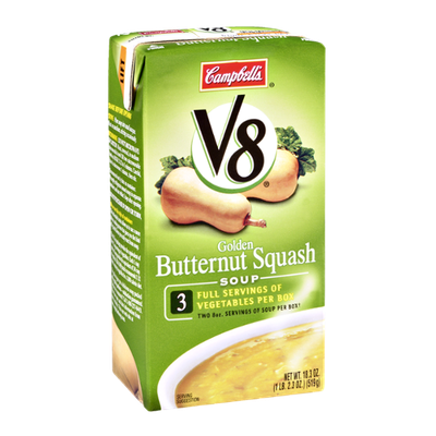 Campbell's V8 Golden Butternut Squash Soup