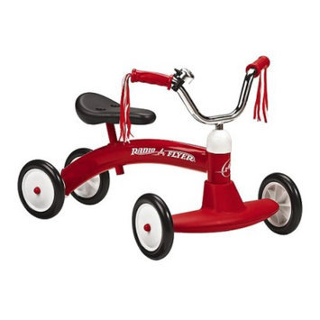 Radio Flyer Kid's Scoot-About Scooter - Red