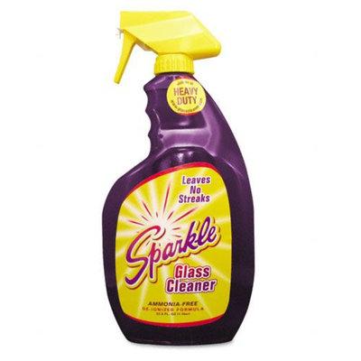 Sparkle Glass Cleaner, 33.8oz Spray Bottle