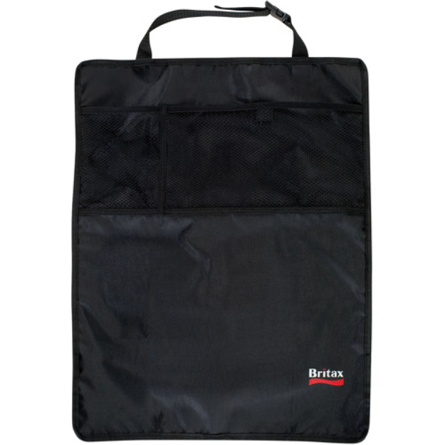 Britax 2pk Car Seat Kick Mats with Pockets Black