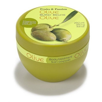 Fruits & Passion Fruits and Passion Nourishing Body Butter, Olive Oil, 8.8-Ounces Jar