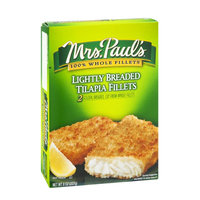 Mrs. Paul's Tilapia Fillets Lightly Breaded - 2 CT