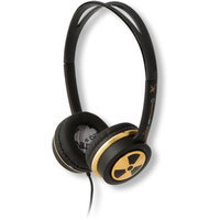 iFrogz Ear Pollution Toxix Headphones, Gold/Brown