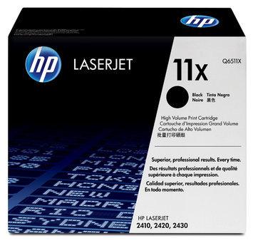 Hewlett Packard HP Laserjet Black Toner Cartridge, Q6511X