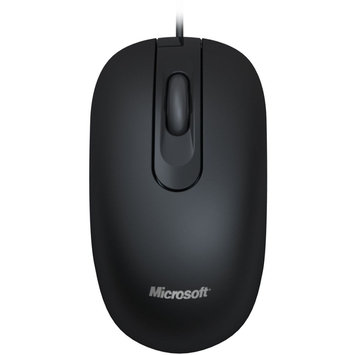 Micro Innovations Microsoft JUD-00001 Black Wired Optical Mouse