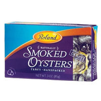 Roland Large Smoked Oysters, 3-Ounce Cans (Pack of 5)