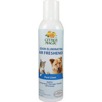 Citrus Magic Odor Eliminating Air Freshener Pure Linen 7 Ounce Spray