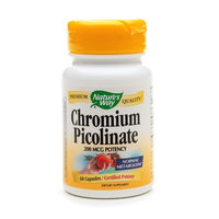 Nature's Way Chromium Picolinate 200mcg