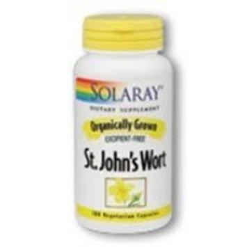 Solaray Organic St. John's Wort Supplement,450 mg, 100 Count