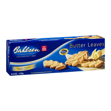 Bahlsen Butter Leaves Fine European Biscuits